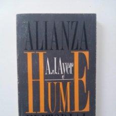 Libros de segunda mano: HUME - A. J. AYER. Lote 124034927
