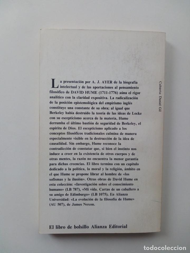 Libros de segunda mano: HUME - A. J. AYER - Foto 3 - 124034927