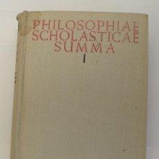Libros de segunda mano: OBRA FILOSÓFICA PHILOSOPHIAE SCHOLASTICAE SUMMA. Lote 124034939