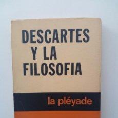 Libros de segunda mano: DESCARTES Y LA FILOSOFÍA - KARL JASPERS. Lote 124527231