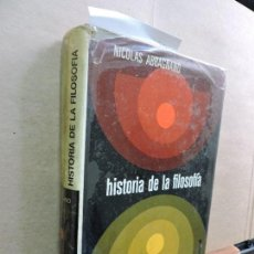 Libros de segunda mano: HISTORIA DE LA FILOSOFÍA TOMO I. ABBAGNANO, NICOLÁS. ED. MONTANER Y SIMÓN. BARCELONA 1973. 2ªEDICIÓN. Lote 125366367