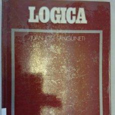 Libros de segunda mano - LÓGICA. JUAN JOSÉ SANGUINETI. FILOSOFÍA - 126200159