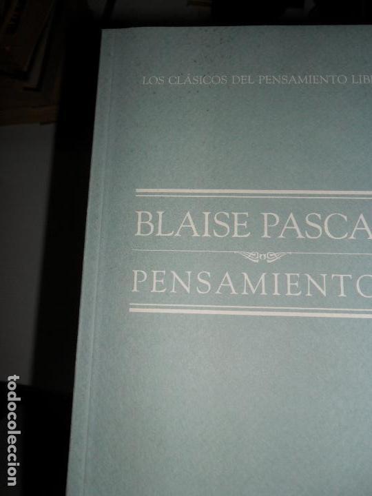 PENSAMIENTOS, BLAISE PASCAL, ED. EL MUNDO (Libros de Segunda Mano - Pensamiento - Filosofía)