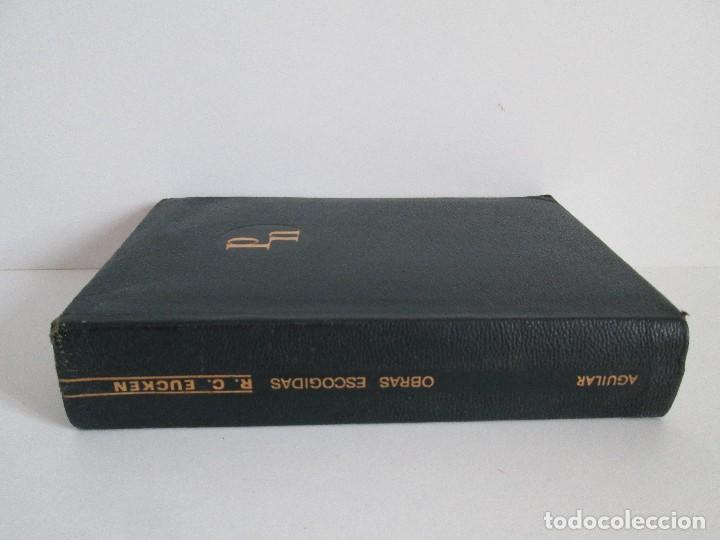 Libros de segunda mano: RUDOLF CHRISTOPH EUCKEN. OBRAS ESCOGIDAS. LOS GRANDES PENSADORES: SU TEORIA EN LA VIDA..AGUILAR 1957 - Foto 2 - 127979331