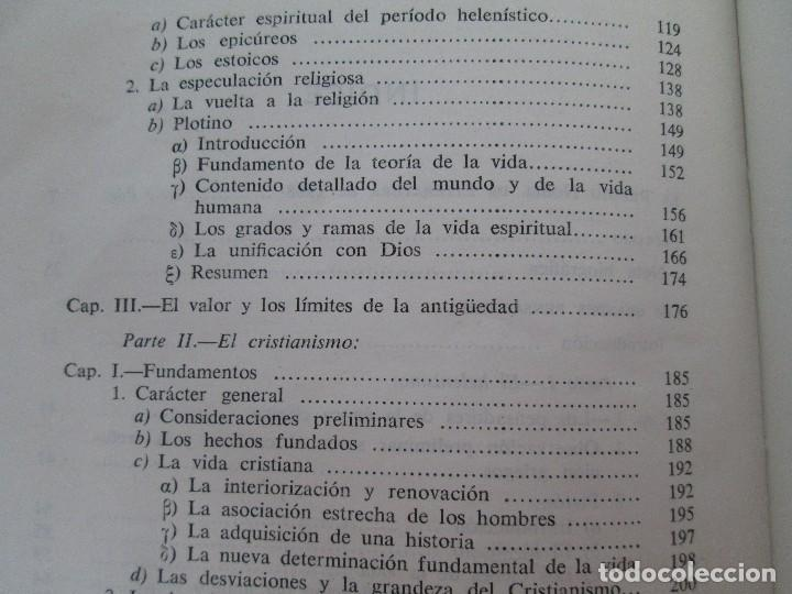 Libros de segunda mano: RUDOLF CHRISTOPH EUCKEN. OBRAS ESCOGIDAS. LOS GRANDES PENSADORES: SU TEORIA EN LA VIDA..AGUILAR 1957 - Foto 14 - 127979331