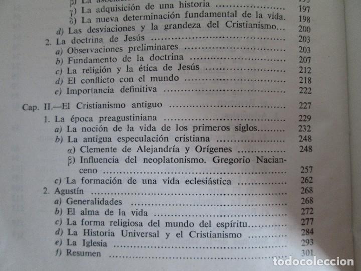 Libros de segunda mano: RUDOLF CHRISTOPH EUCKEN. OBRAS ESCOGIDAS. LOS GRANDES PENSADORES: SU TEORIA EN LA VIDA..AGUILAR 1957 - Foto 15 - 127979331