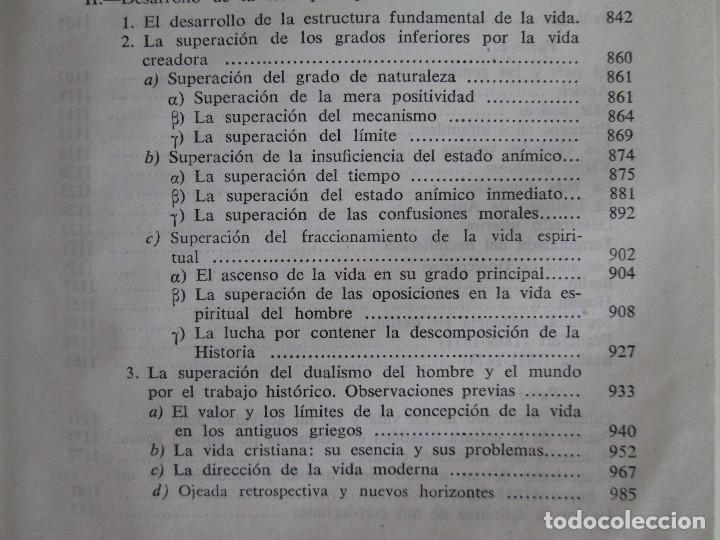 Libros de segunda mano: RUDOLF CHRISTOPH EUCKEN. OBRAS ESCOGIDAS. LOS GRANDES PENSADORES: SU TEORIA EN LA VIDA..AGUILAR 1957 - Foto 21 - 127979331