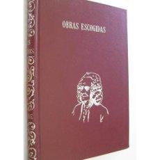 Libros de segunda mano: OBRAS ESCOGIDAS . Lote 128432695