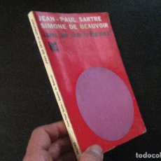 Livros em segunda mão: ¿PARA QUÉ SIRVE LA LITERATURA? POR JEAN PAUL SARTRE Y SIMONE DE BEAUVOIR DE PROTEO EN 1966 1ED ESPÑO. Lote 128480119