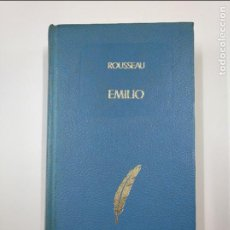 Libros de segunda mano: EMILIO O LA EDUCACION. - ROUSSEAU, J.J. TDK350. Lote 128652835