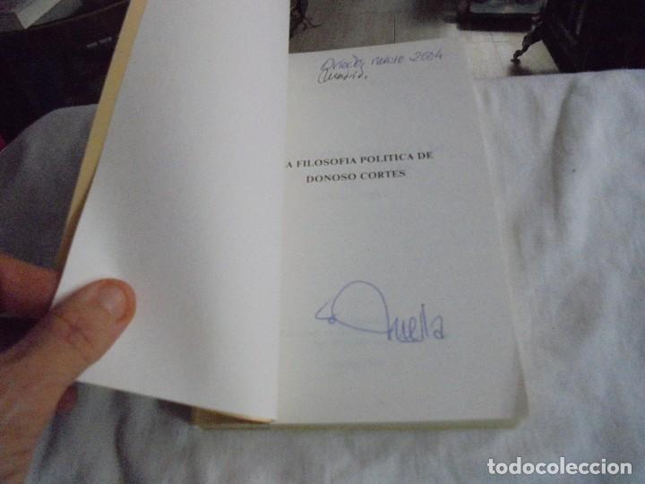 Libros de segunda mano: LA FILOSOFIA POLITICA DE DONOSO CORTES.SANTOS PEREZ.UNIVERSIDAD CATOLICA DEL ECUADOR QUITO 1958 - Foto 2 - 128721487