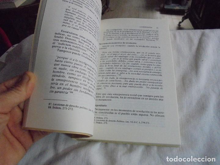 Libros de segunda mano: LA FILOSOFIA POLITICA DE DONOSO CORTES.SANTOS PEREZ.UNIVERSIDAD CATOLICA DEL ECUADOR QUITO 1958 - Foto 5 - 128721487