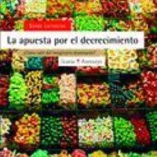 Libros de segunda mano: LA APUESTA POR EL DECRECIMIENTO. - LATOUCHE, SERGE.. Lote 128844191