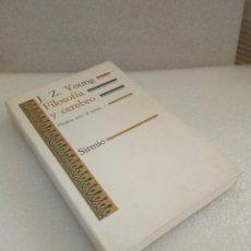 Libros de segunda mano: J.Z. YOUNG. FILOSOFÍA Y CEREBRO. VALLCORBA EDITOR, SIRMIO. 1992 NUEVO SIN LEER. Lote 128868903