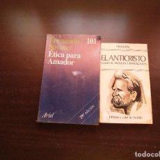 Libros de segunda mano: LIBROS DE FILOSOFIA. Lote 130012595