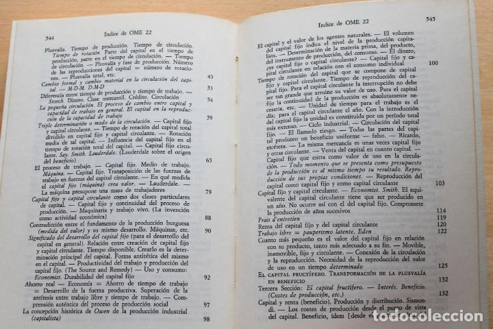 Libros de segunda mano: Karl Marx - Líneas fundamentales de la crítica de la economía política (Grundrisse) Segunda mitad - Foto 6 - 130566434