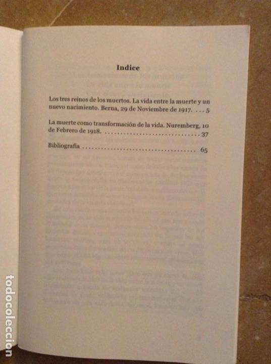 Libros de segunda mano: LA MUERTE COMO TRANSFORMACIÓN DE LA VIDA (RUDOLF STEINER) - Foto 3 - 131804506