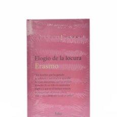 Libros de segunda mano: ELOGIO DE LA LOCURA - ERASMO. Lote 132295979