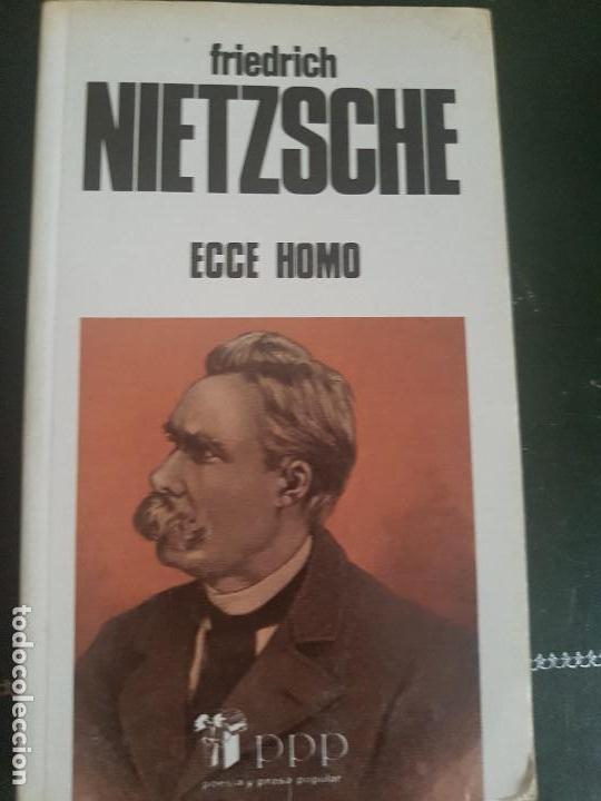 Ecce Homo Friedrich Nietzsche Ediciones Busma S Sold