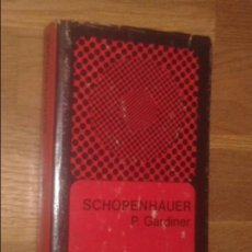 Libros de segunda mano: PATRICK GARDINER - SCHOPENHAUER - FONDO DE CULTURA ECONÓMICA, 1975 [1ª EDICIÓN EN ESPAÑOL]. Lote 133418830