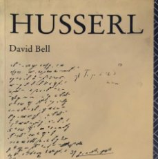 Libros de segunda mano: DAVID BELL. HUSSERL. PADSTOW, 1991.. Lote 134051286