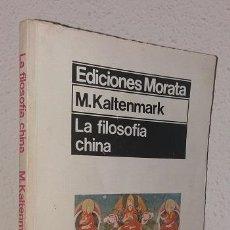 Libri di seconda mano: KATELNMARK, M.: LA FILOSOFÍA CHINA (MORATA) (LB). Lote 134438086