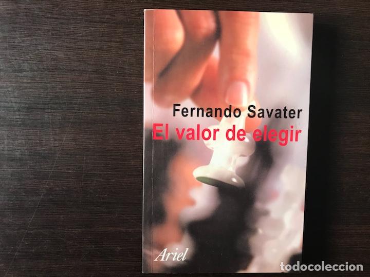 EL VALOR DE ELEGIR. FERNANDO SAVATER (Libros de Segunda Mano - Pensamiento - Filosofía)