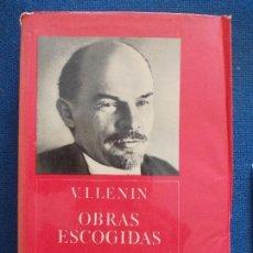 Libros de segunda mano: LENIN OBRAS ESCOGIDAS. Lote 135100098