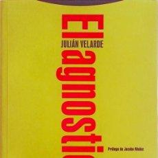 Livros em segunda mão: EL AGNOSTICISMO - JULIÁN VELARDE LOMBRAÑA. Lote 135673391