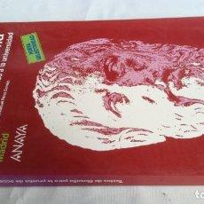 Libros de segunda mano: TEXTOS DE FILOSOFIA PARA LA PRUEBA DE ACCESO A LA UNIVERSIDAD-ANAYA-. Lote 140426766