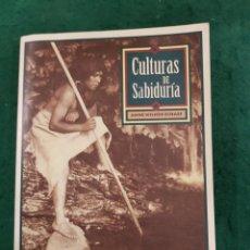 Libros de segunda mano: CULTURAS DE SABIDURÍA - ANNE WILSON SCHAEF. Lote 141237958