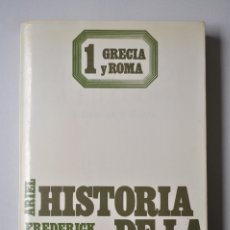 Libros de segunda mano: HISTORIA DE LA FILOSOFIA. GRECIA Y ROMA (VOL.I) - FREDERICK COPLESTON ED. ARIEL. Lote 141267946