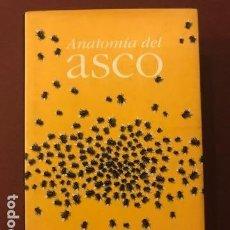 Libros de segunda mano: ANATOMIA DEL ASCO. WILLIAM IAN MILLER. TRAD. PALOMA GOMEZ CRESPO. TAURUS EDICIONES, 1998. Lote 142925314