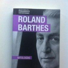 Libros de segunda mano: MITOLOGÍAS - ROLAND BARTHES. Lote 143475422