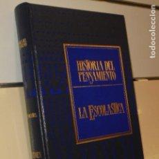 Libros de segunda mano: TOMO TAPA DURA HISTORIA DEL PENSAMIENTO Nº 2 LA ESCOLASTICA N. ABBAGNANO - SARPE . Lote 143502606