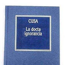 La docta ignorancia. Nicolás de Cusa