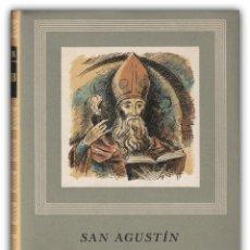Libros de segunda mano: 1957 - SAN AGUSTÍN: CONFESIONES - ESPIRITUALIDAD, PATRÍSTICA, PADRES DE LA IGLESIA - TELA . Lote 144322926