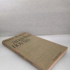 Libros de segunda mano: ANGELUS NOVUS - WALTER BENJAMIN - LA GAYA CIENCIA 1971. Lote 144705230