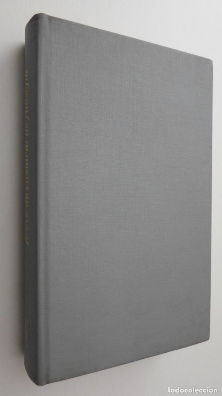 BREVE DICCIONARIO DE FILOSOFÍA - MUELLER, MAX (Libros de Segunda Mano - Pensamiento - Filosofía)