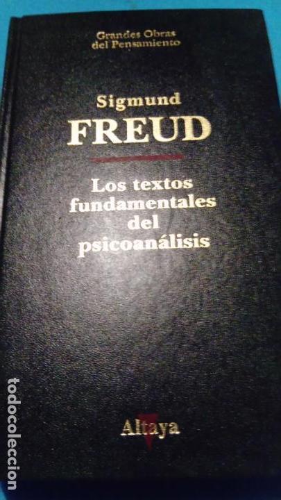 LOS TEXTOS FUNDAMENTALES DEL PSICOANÁLISIS, I. - FREUD, SIGMUND (Libros de Segunda Mano - Pensamiento - Filosofía)