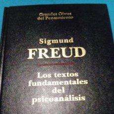 Libros de segunda mano: LOS TEXTOS FUNDAMENTALES DEL PSICOANÁLISIS, I. - FREUD, SIGMUND. Lote 146264518