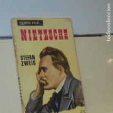 Livros em segunda mão: QUIEN FUE... NIETZSCHE STEFAN ZWEIG - EDICIONES G. P. - 1958. Lote 147006070