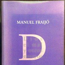 Libros de segunda mano: DIOS, EL MAL Y OTROS ENSAYOS. MANUEL FRAIJÓ. EDITORIAL TROTTA. 2004. Lote 147688134