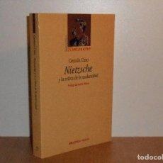 Libros de segunda mano: NIETZSCHE Y LA CRÍTICA DE LA MODERNIDAD, GERMÁN CABO. Lote 147988790