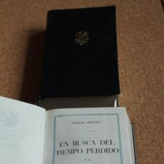 Libros de segunda mano: EN BUSCA DEL TIEMPO PERDIDO. PROUST (MARCEL) BARCELONA, PLAZA & JANÉS, 1967-1968. Lote 148153174