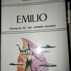 Libros de segunda mano: EMILIO, ROUSSEAU, ED. EDAF. Lote 148219098