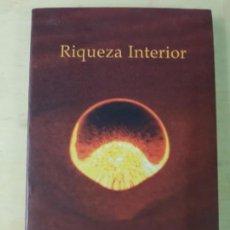Libros de segunda mano: RIQUEZA INTERIOR- DOKUSHÔ VILLALBA. Lote 148500962