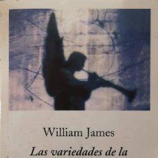 Libros de segunda mano: LAS VARIEDADES DE LA EXPERIENCIA RELIGIOSA (WILLIAM JAMES). Lote 149533990