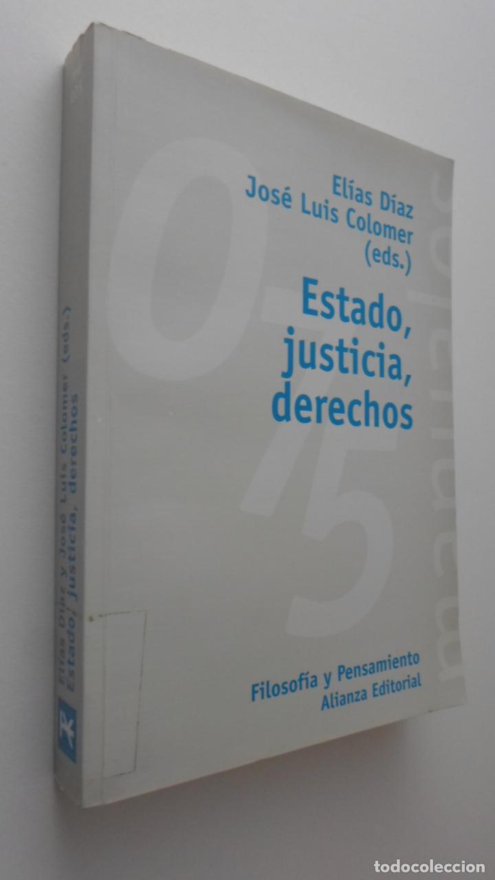 ESTADO, JUSTICIA, DERECHOS - DÍAZ GARCÍA, ELÍAS (Libros de Segunda Mano - Pensamiento - Filosofía)