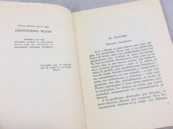 Libros de segunda mano: INTRODUCCION A LA LECTURA DE PLATON ALEXANDRE KOYRE Editorial Cajica Puebla México 1947 - Foto 4 - 150839566